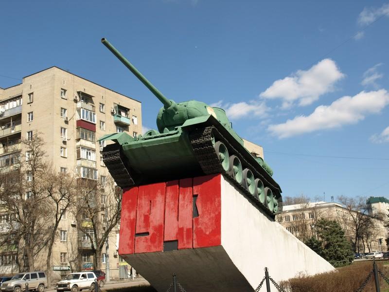 Танк Т-34-85 (Ростов-на-Дону)