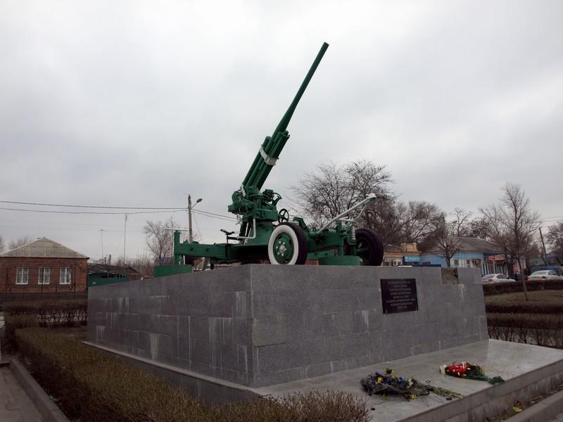 Зенитное орудие 52-К (Ростов-на-Дону)