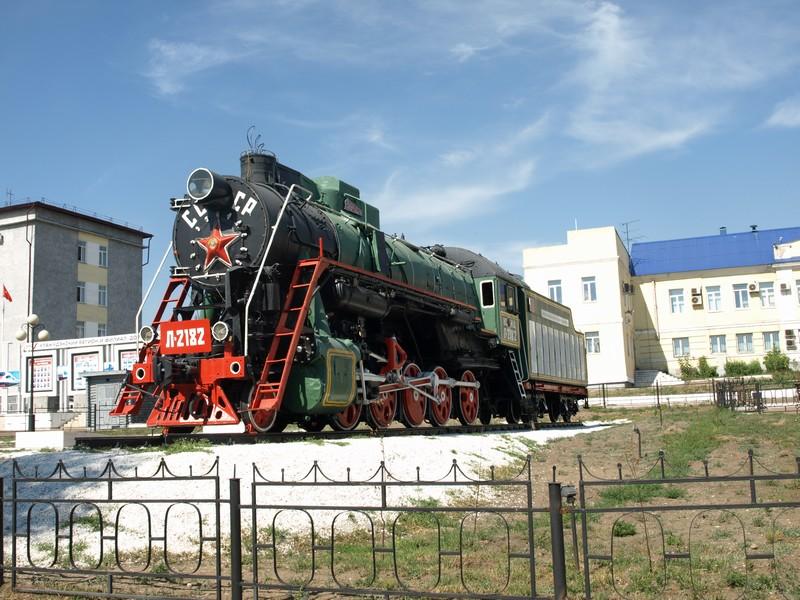 Паровоз Л-2182 (Улан-Удэ)