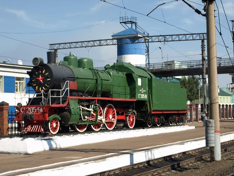 Паровоз Су205-91 (Улан-Удэ)