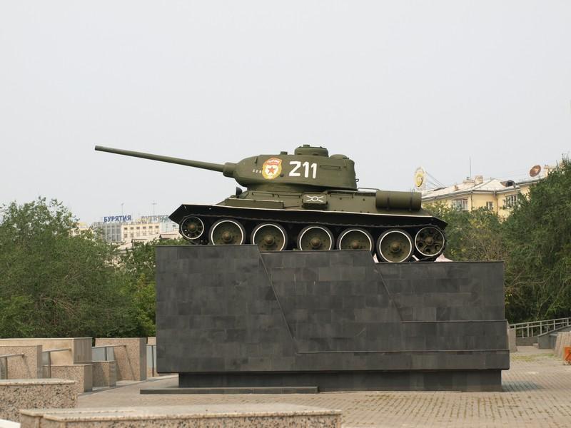 Т-34-85 (Улан-Удэ)